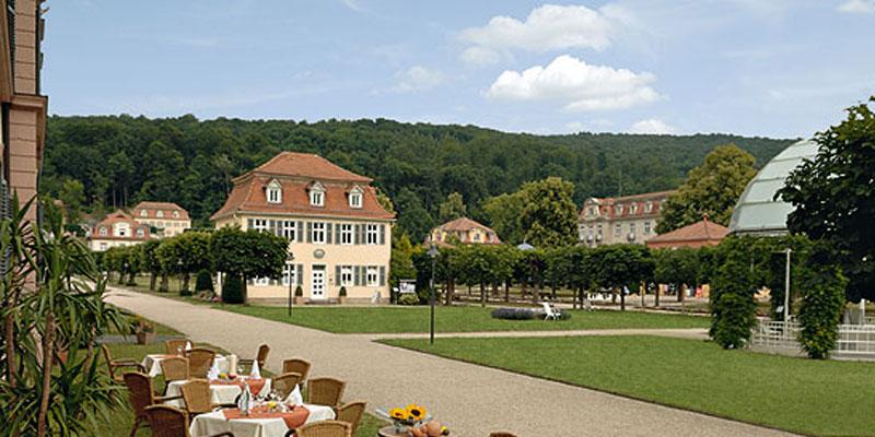 Badhotel Bad Br 252 Ckenau Im Herzen Des Idyllischen Kurparks